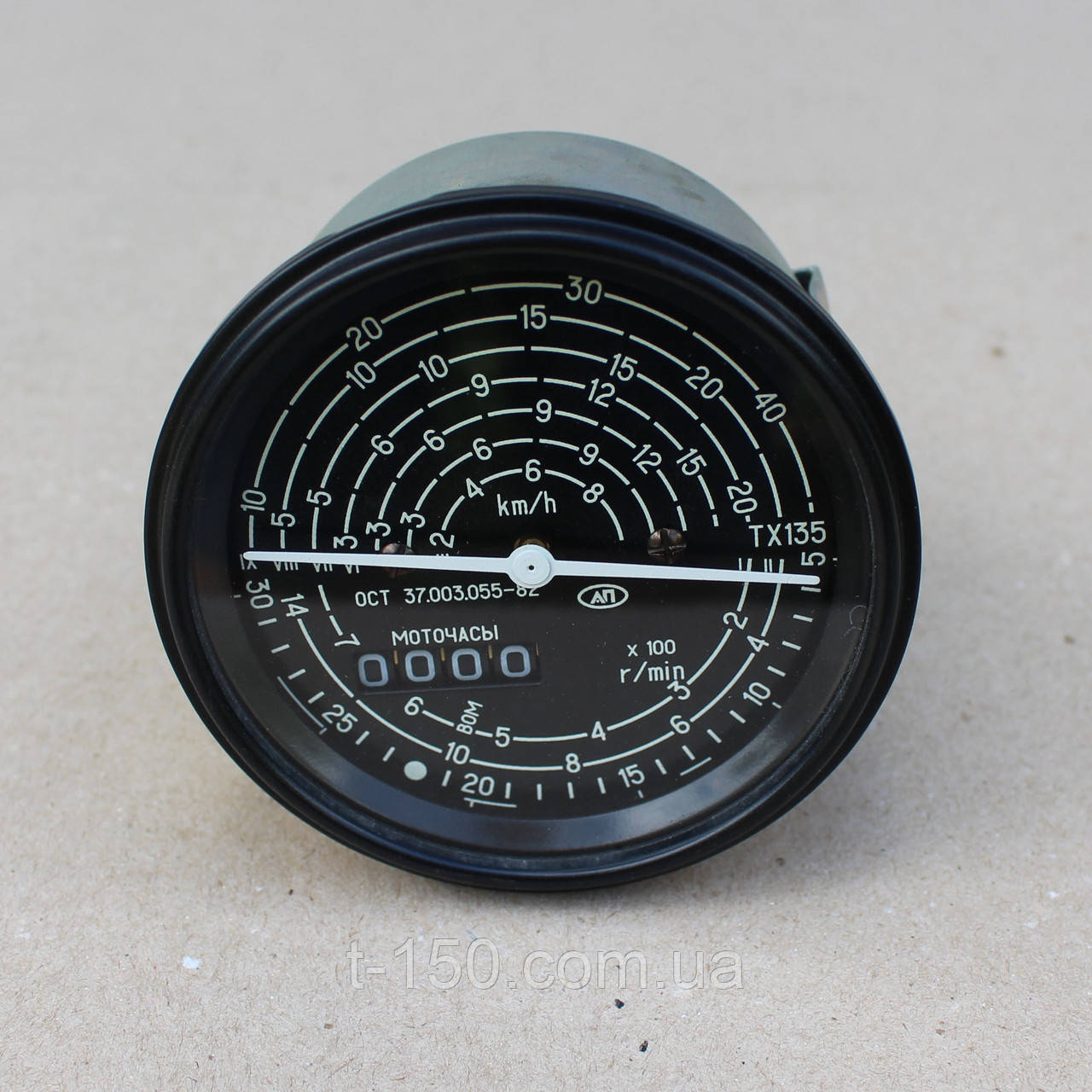 Тахоспидометр с приводом от гибкого вала МТЗ-80 ХМ, -80/82 (ТХ135-38130310)