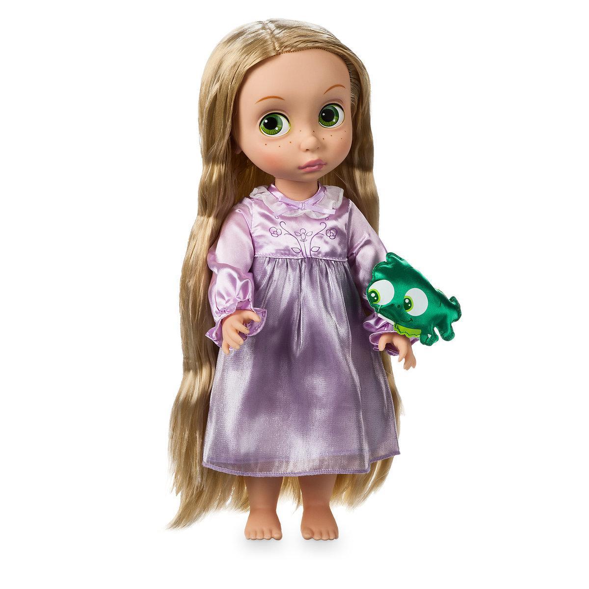 Disney Animators Дисней Аниматор Кукла принцесса малышка Рапунцель