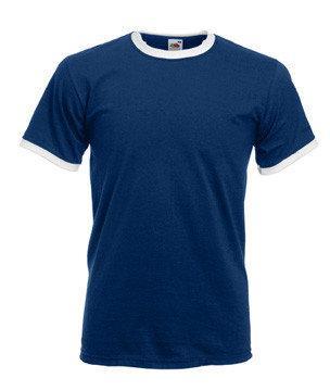 Мужская футболка с манжетами 168-22-В213 fruit of the loom