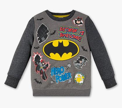 Свитшот с рисунком Бэтмена на мальчика 5-6 лет C&A Германия Размер 116
