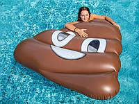 Water Fun Air кровать Спасательный плот остров Lounge бассейна 1.6 м гигантский милые