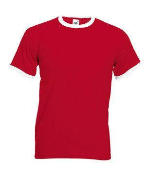 Мужская футболка с манжетами 168-RW-В217 fruit of the loom