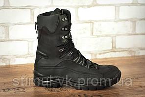 Ботинки высокие тактические STIMUL Атаман зима/деми крейзи черный