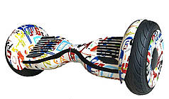 Гироскутер Allroad 10.5' Future Digital Grafitty (Приложение к телефону, Самобаланс, Led,Bluetooth,сумка)