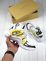 Женские кроссовки Louis Vuitton Archlight Sneaker yellow,Реплика топ, фото 1