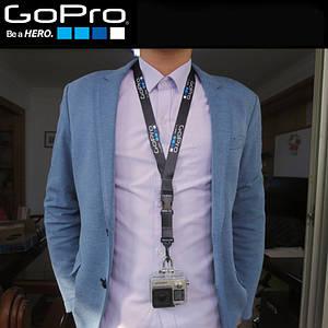 Страховочный ремешок GoPro для быстрого крепления экшн-камер на шею