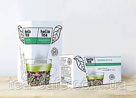 Чай Hello tea Зеленая Мята 20 пак.