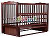 Кровать Дубок Веселка маятник, откидной бок DVMO-2 бук тик