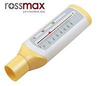 Пикфлоуметр ROSSMAX PF120С для измерения пиковой скорости выдоха 50-400 л/мин , для детей , Швейцария