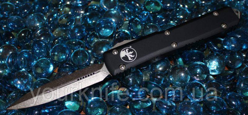 Купить Нож Microtech ULTRATECH D/E Stonewash 122-10 M390