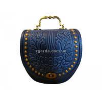 f31178f9c725 Женская кожаная синяя сумка в категории женские сумочки и клатчи в ...