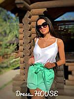 Женские стильные летние шорты Бант, фото 1