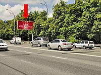 Аренда рекламного щита  г. Киев, Краснозвездный пр-т, напротив ул. Похилая, в сторону пл. Севастопольская