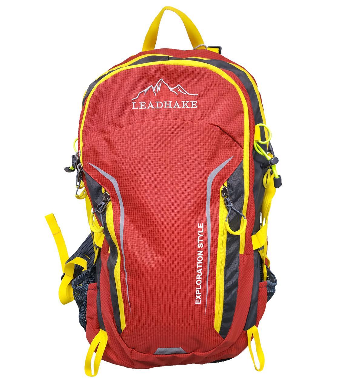 Рюкзак туристичний міський  Leadhake DG-436 червоний (48х33х20 см. 35 літрів)