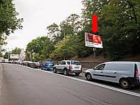 Аренда рекламного щита  г. Киев, Глубочицкий проезд, электроопора №25, в сторону ул. Артема