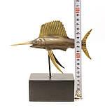 """Бронзовая статуэтка """"Рыба-Меч"""", бронза, литье, Германия, фото 6"""