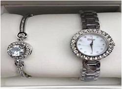 Годинники жіночі в подарунковій упаковці WATCH SET Dior