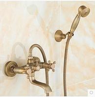 Смеситель для ванны (душа) в бронзе вентильный 2-037, фото 1