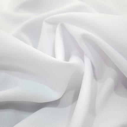 Костюмная ткань габардин белый, фото 2