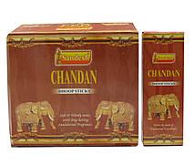 Chandan (sandesh)(12 шт/уп) безосновное благовоние