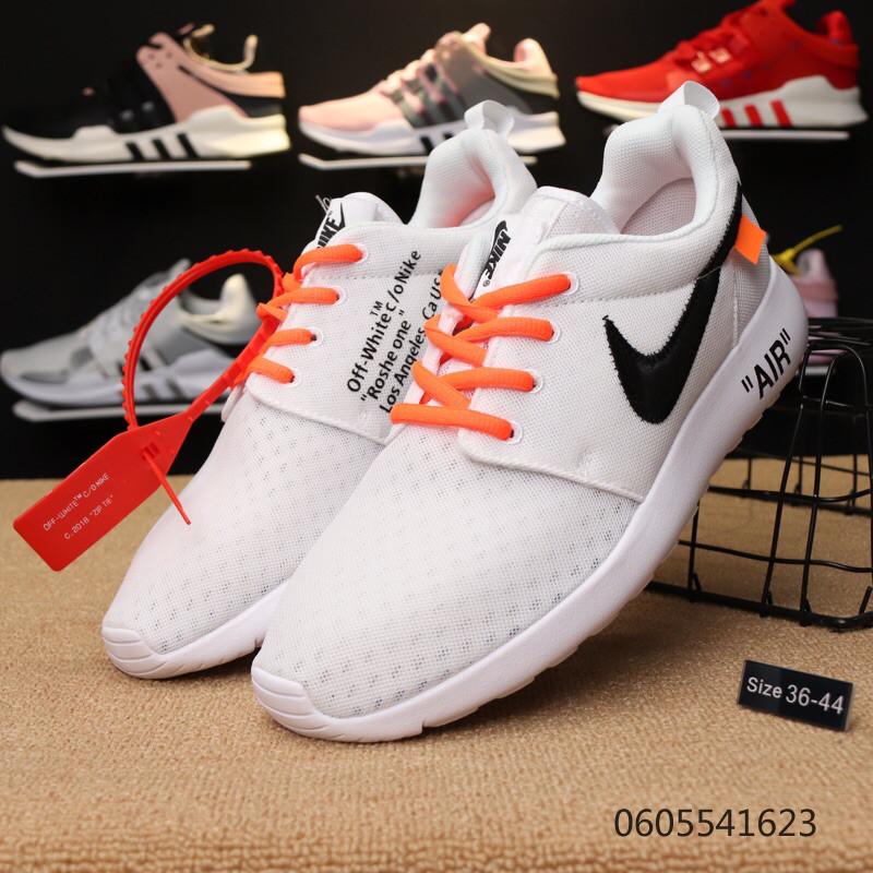 best service c9ed3 00fc6 Кроссовки Nike Roshe One x Off-White найк мужские женские 0605541623 реплика