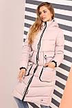 Зимнее молодежное пальто Далия 2 короткое,  р-ры 42 - 56, Новая коллекция  NUI VERY,, фото 6