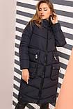 Зимнее молодежное пальто Далия 2 короткое,  р-ры 42 - 56, Новая коллекция  NUI VERY,, фото 5