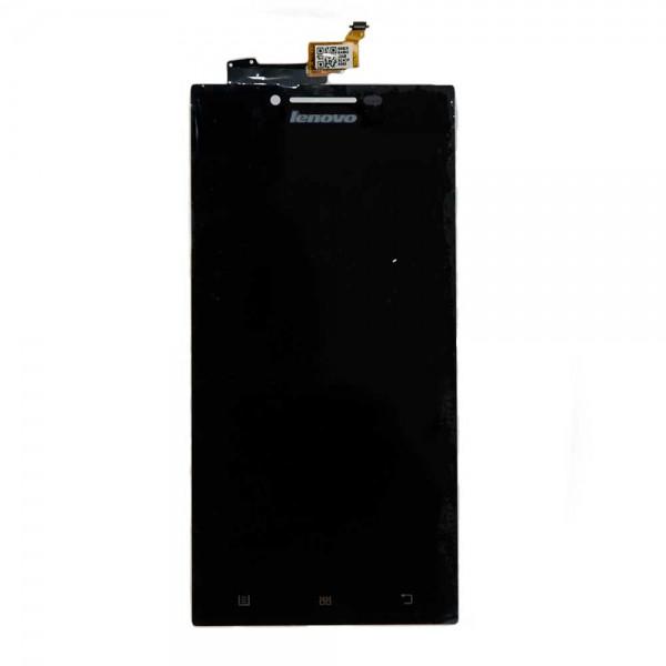 Дисплей для Lenovo P70 с тачскрином черный Оригинал