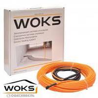 Теплый пол в стяжку | Двухжильный кабель Woks-17 325 Вт (2,1…2,6 кв.м) с терморегулятором