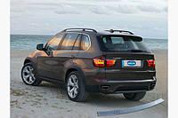 Накладка на задний бампер OmsaLine (нерж.) BMW X5 E-70 2007-2013 гг