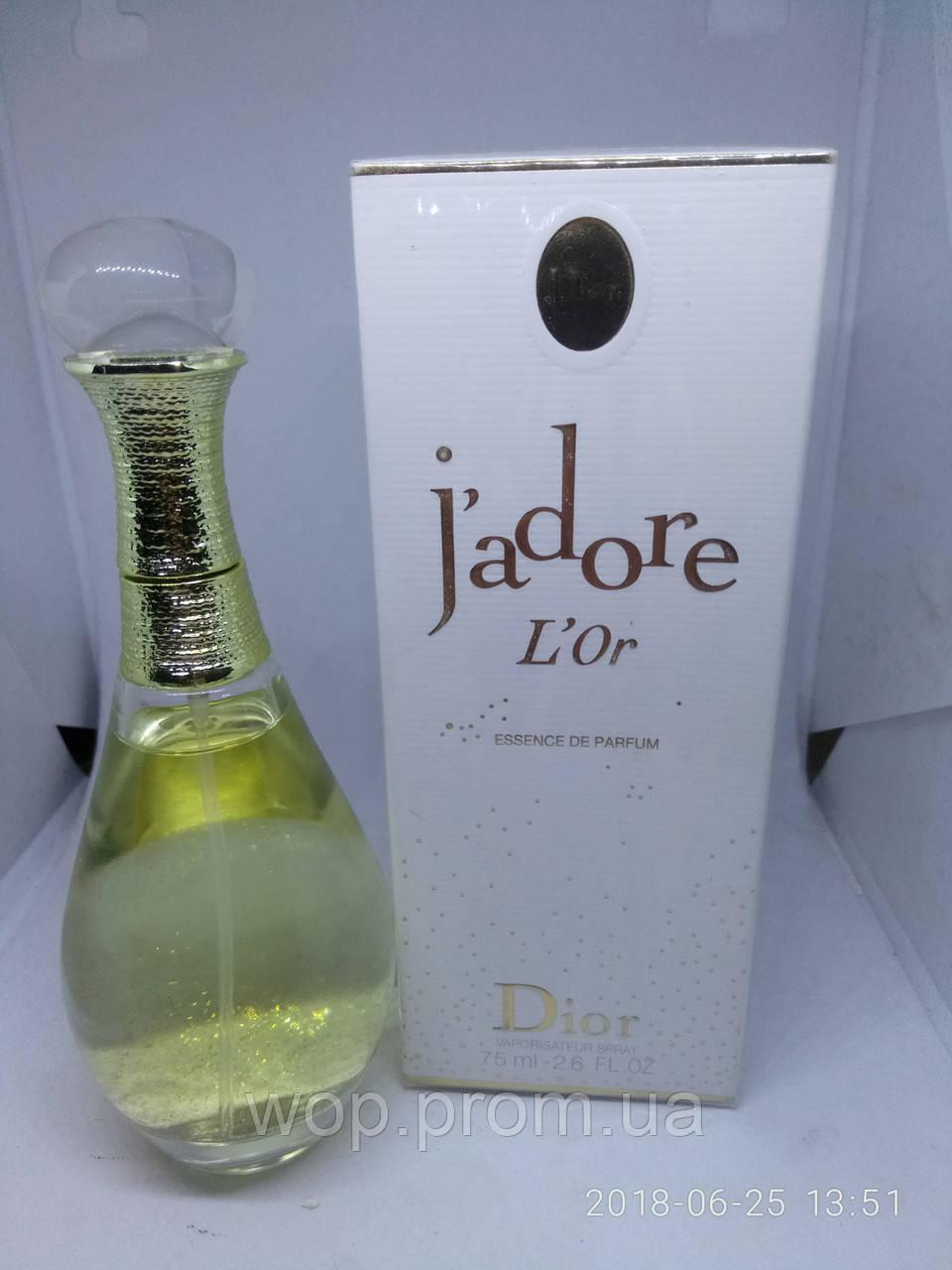 Dior Jadore Lor Essence De Parfum 75мл диор жадор лор есеннсе де