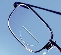 Бифокальные линзы для очков с покрытием и без
