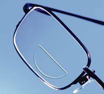 Бифокальные линзы для очков с покрытием и без, фото 2