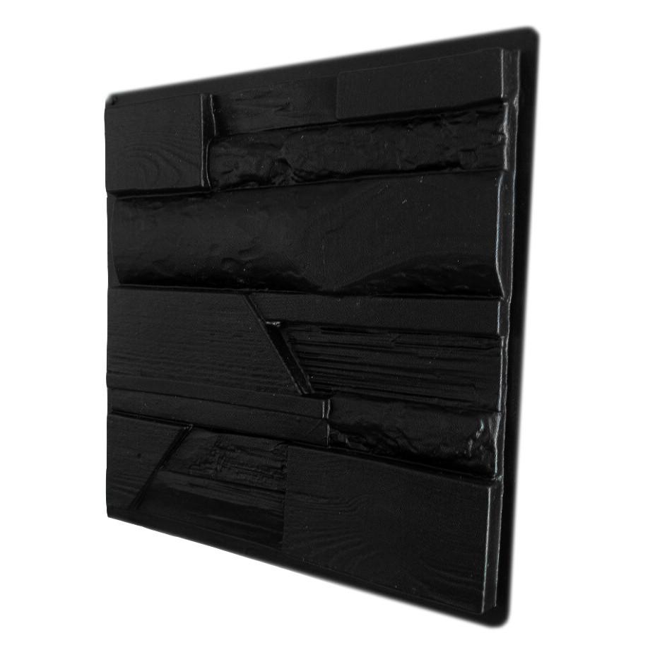"""Форма для 3D панелей """"Древесный микс"""" 500*500 мм"""