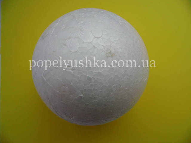 Пінопласт куля 6 см