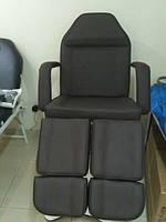 Педикюрно-косметологическое кресло-кушетка  на гидравлике  с раздельной подножкой