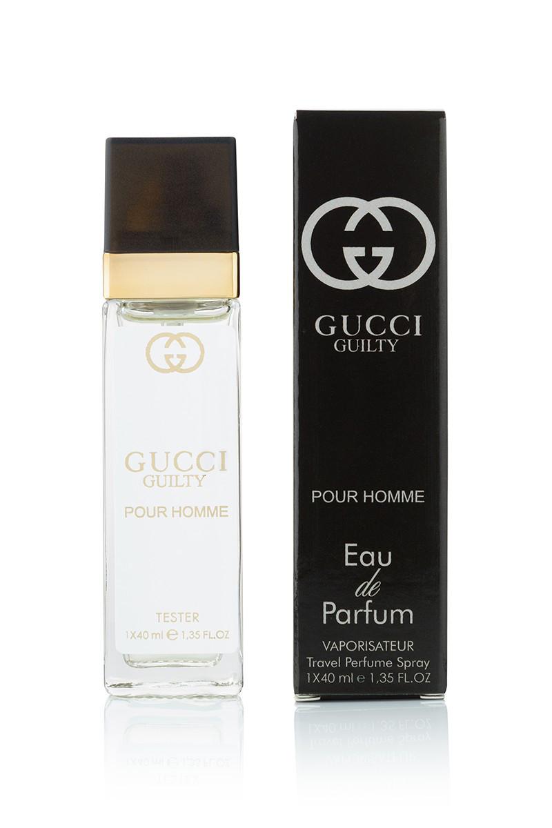 40 мл мини парфюм Gucci Guilty Pour Homme м продажа цена в