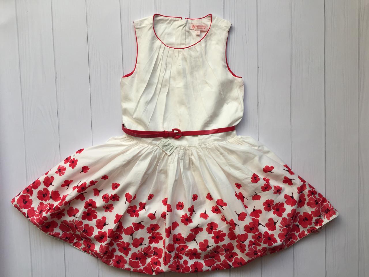 df958aca6671b27 Очень красивое платье из натурального хлопка на девочку 6-7 лет C&A  Германия Размер 122, цена 420 грн., купить в Ивано-Франковске — Prom.ua  (ID#728041888)