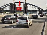 Купить рекламный Щит г. Киев, Набережно-Рыбальская ул., 420м до р-н Подольско-Воскресенского моста, в сторону Набережно-Крещатицкой