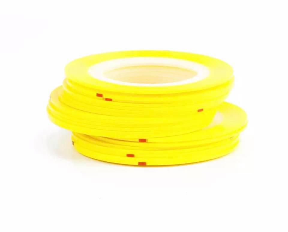 Нить для ногтей в рулоне STZ желтый 0,8 мм