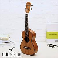 Скидки! Профессиональная Укулеле Zebra UK-26 Тенор / UK-23 Концерт Гавайская гитара, Оригинальная укулеле !!!