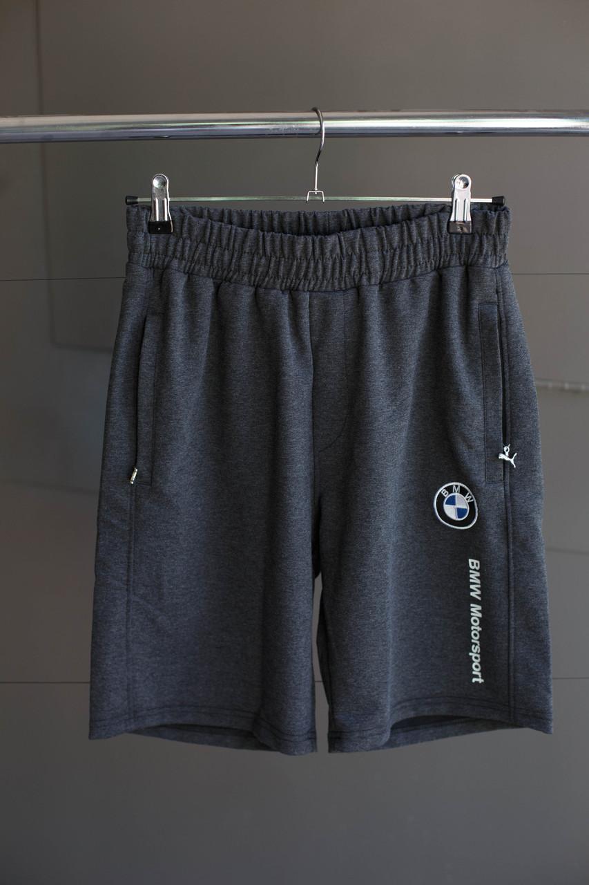 Мужские шорты Puma ( BMW Мotorsport) темно серые