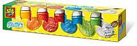Гуашь - СВЕРКАНИЕ (6 цветов, в пластиковых баночках)