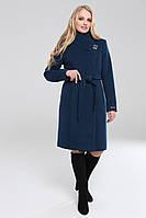 Демисезонное женское пальто Ренди т.морская волна