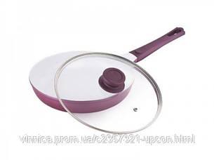 Сковорода с керамическим покрытием и крышкой Ø 240 мм (шт)