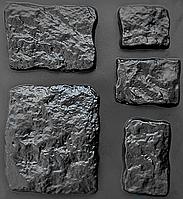 "Комплект ""Кольраби"" - 3 формы для камня: от 10х10 до 32х27см. 6 видов камня, 10 ячеек."