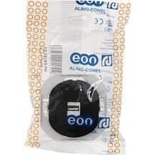 Розетка USB черная Eon Aling Conel, фото 3