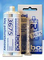 """Двухкомпонентный полиуритановый клей для быстрого ремонта """"безцветный"""" (Multibond-3675 ) 25 ml"""
