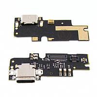 Разъём зарядки для XIAOMI Mi4с (USB Type-C) на плате с микрофоном