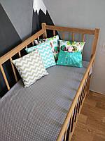 Набор №12 в детскую кроватку 120Х60 ( расцветка на выбор)